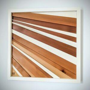 """Rays of cedar 13x13"""""""